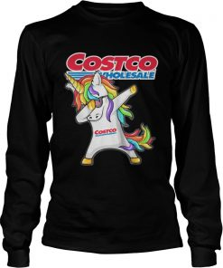 Long Sleeve Costco Wholesale Unicorn Dabbing shirt