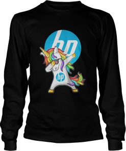 Long Sleeve Hp Unicorn Dabbing shirt