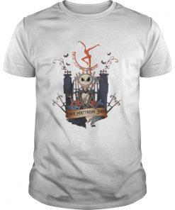 Guys Halloween Jack Skellington Dave Matthews Band shirt
