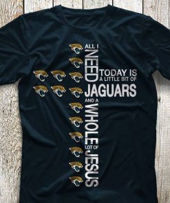 All I need today is a little bit of Jaguars and a whole lot of Jesus shirt