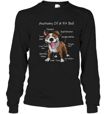 Anatomy of a Pit bull shirt