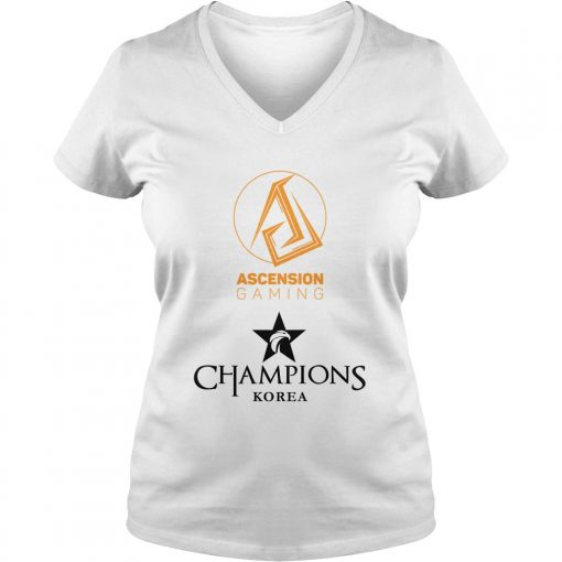 Ascension Gaming Championship Lol Esports 2018 ladies v-neck