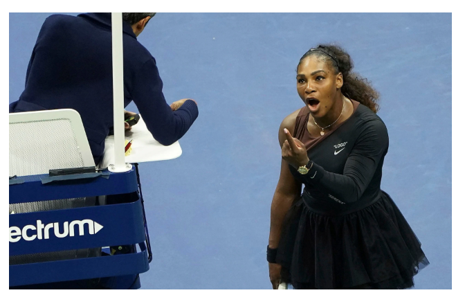 Australian Newspaper Doesn't See How This Cartoon of Serena Williams Is Racist.