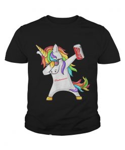Budweiser Unicorn Dabbing youth tee