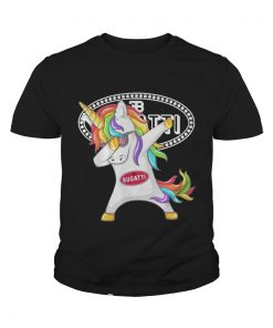 Bugatti Unicorn Dabbing youth tee
