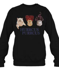 Cat Hurrcus purrcus Hocus Pocus sweatshirt