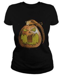 Frag-o-lantern Pumpkin ladies tee