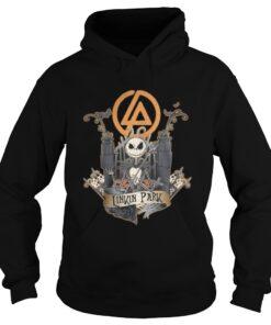 Halloween Jack Skellington Linkin Park hoodie