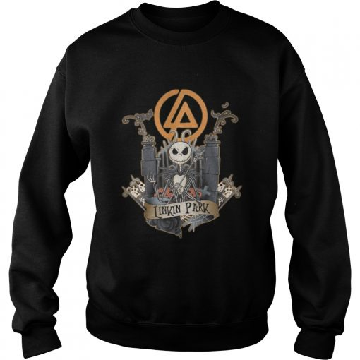 Halloween Jack Skellington Linkin Park sweatshirt