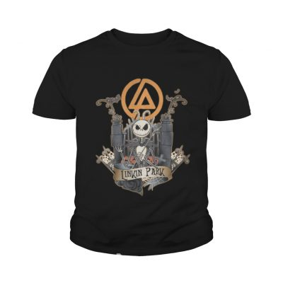 Halloween Jack Skellington Linkin Park youth tee