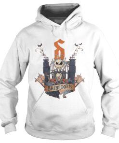 Halloween Jack Skellington Shine Down hoodie