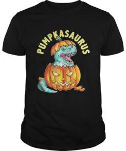 Halloween Pumpkin Saurus shirt