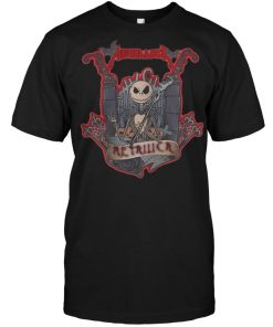 Halloween Jack Skellington Metallica shirt