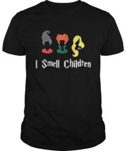 Hocus Pocus Sanderson Sisters I smell children shirt