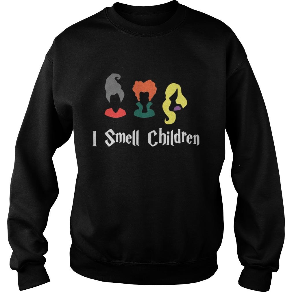 bbe43284 Hocus Pocus Sanderson Sisters I smell children shirt - Kingteeshop
