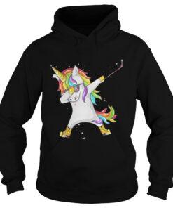 Ice hockey Unicorn Dabbing hoodie