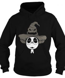 Jack Skellington Harry Potter and the Sorting hat hoodie