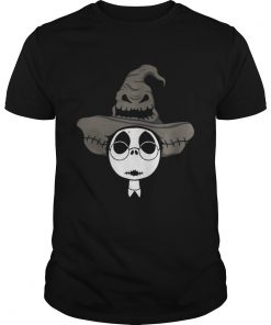Jack Skellington Harry Potter and the Sorting hat shirt