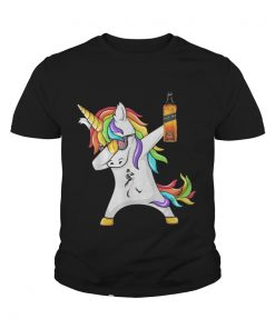 Johnnie Walker Unicorn Dabbing youth tee