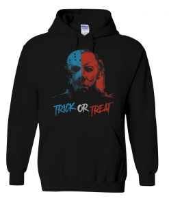 Michael Myers and Jason Mask Trick or treat shirt