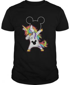 Mickey Unicorn Dabbing shirt