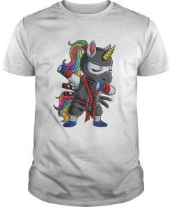 Ninja Unicorn Rainbow classic guys