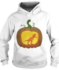 Pumpkin Dinosaur T-rex hoodie
