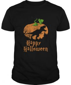 Pumpkin T-rex Happy Halloween shirt