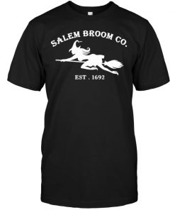 Salem broom co est 1692 shirt