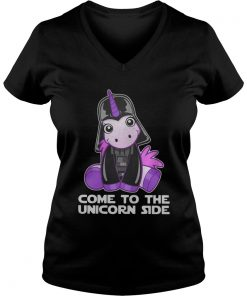 Star Wars come to the Unicorn side ladies v-neck