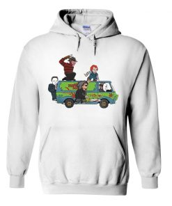 The Massacre Machine Horror Scooby Doo hoodie