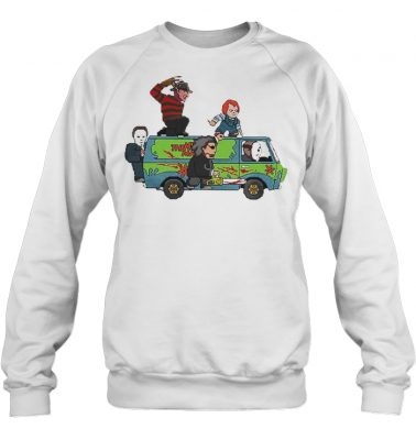 The Massacre Machine Horror Scooby Doo sweatshirt