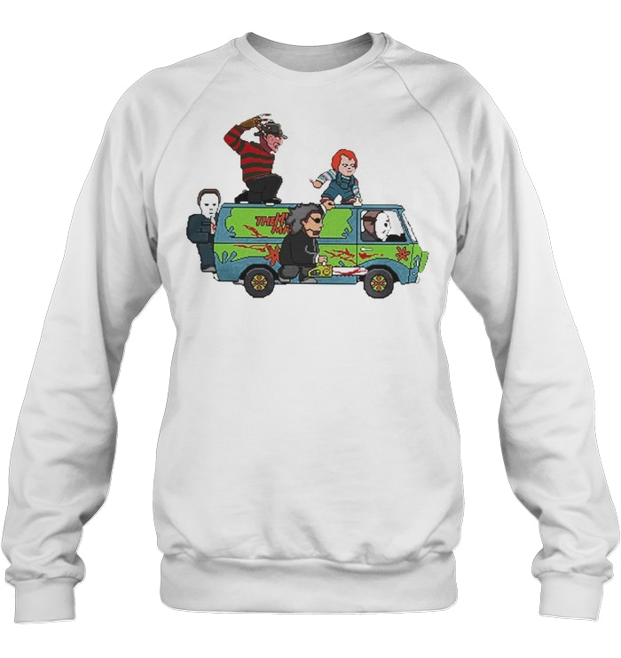 f8132d171cf The Massacre Machine Horror Scooby Doo shirt - Kingteeshop