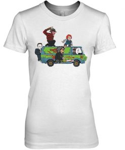 The Massacre Machine Horror Scooby Doo women shirt