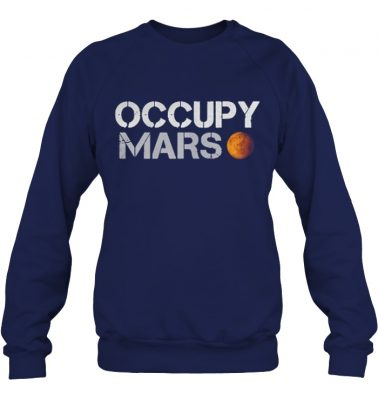 Elon musk occupy mars shirt