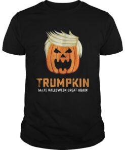 Trumpkin make Halloween great again shirt