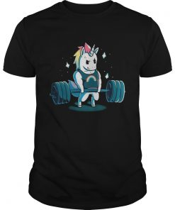Weight lifting gym unicorn classic guys