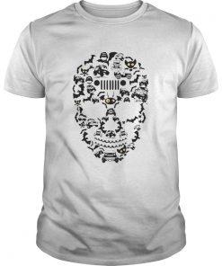 Guys Jeep Skull – Halloween shirt