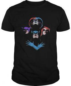 Guys DC Girls Power Queen Bohemian Rhapsody shirt