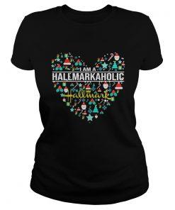 Ladies tee I Am A Hallmark Aholic Shirt