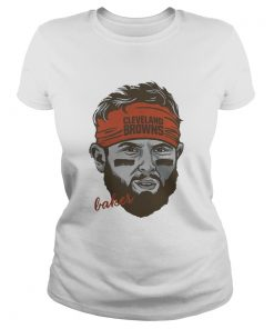 Ladies tee Cleveland Browns Baker Mayfield shirt