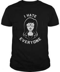 Guys Daria I hate everyone shirt