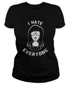 Ladies tee Daria I hate everyone shirt