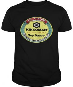 All purpose kikkoman naturally brewed soy sauce over 300 years of excellence Guys