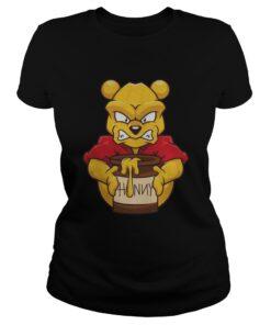 Angry Winnie The Pooh Ladies Tee