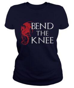Bend The Knee Dragons Ladies Tee