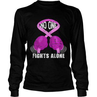 Breast Cancer Fighter Longsleeve Tee