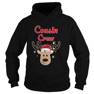 Christmas Cousin Crew hoodie