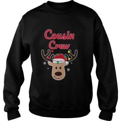 Christmas Cousin Crew sweatshirt