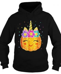 Cute Unicorn Pumpkin Halloween hoodie